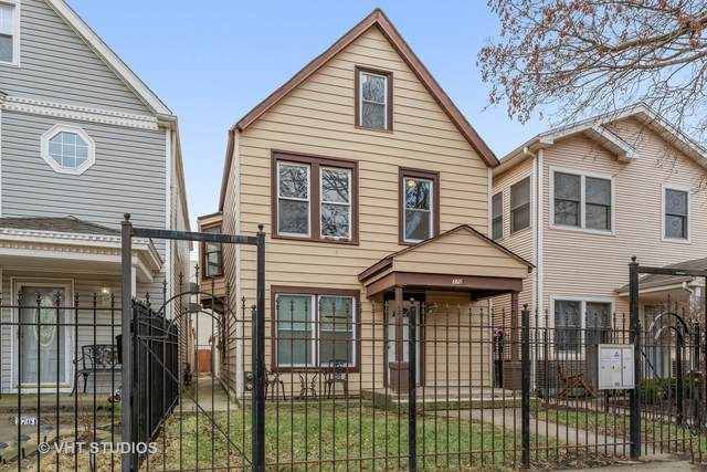 3703 W Palmer Street, Chicago, IL 60647 (MLS #11004185) :: The Dena Furlow Team - Keller Williams Realty