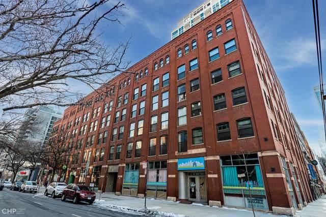 225 W Huron Street #207, Chicago, IL 60654 (MLS #11004348) :: O'Neil Property Group