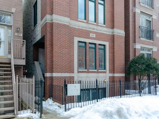 1345 W Fillmore Street #1, Chicago, IL 60607 (MLS #11005573) :: Lewke Partners