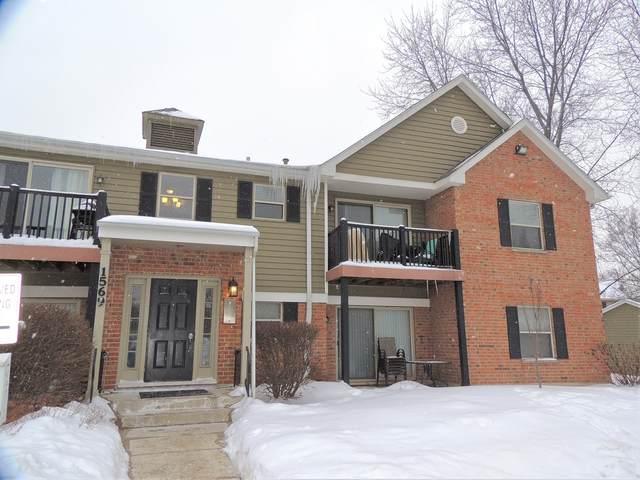 1569 Raymond Drive #104, Naperville, IL 60563 (MLS #11006258) :: Helen Oliveri Real Estate