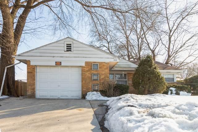 345 E Palatine Road, Palatine, IL 60067 (MLS #11007370) :: Ani Real Estate