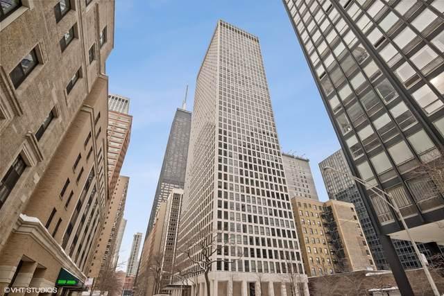 260 E Chestnut Street #2504, Chicago, IL 60611 (MLS #11007643) :: The Perotti Group