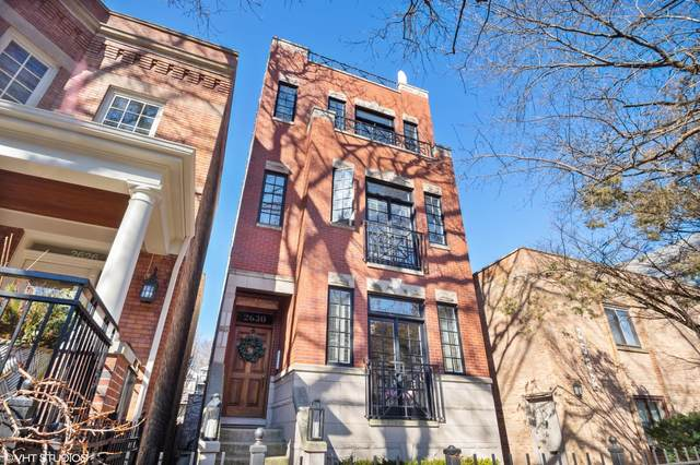 2630 N Mildred Avenue #2, Chicago, IL 60614 (MLS #11007660) :: The Perotti Group
