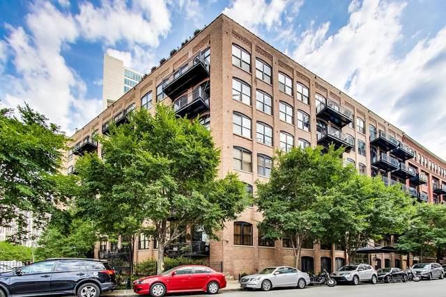 520 W Huron Street #701, Chicago, IL 60654 (MLS #11007783) :: The Perotti Group