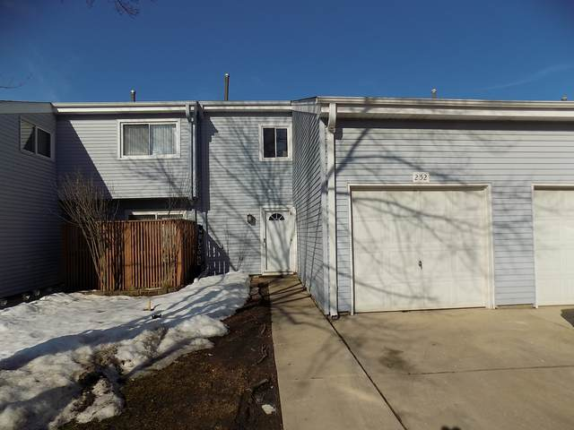 252 E Alpine Drive #252, Glendale Heights, IL 60139 (MLS #11008136) :: Jacqui Miller Homes