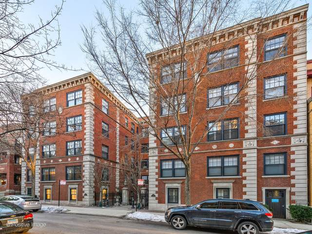 444 W Roslyn Place 3B, Chicago, IL 60614 (MLS #11009368) :: The Perotti Group