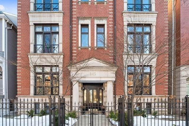 849 W Wrightwood Avenue 1W, Chicago, IL 60614 (MLS #11010190) :: The Perotti Group