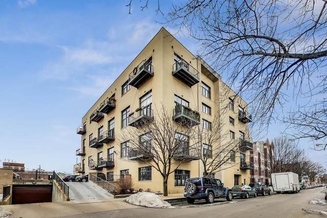 2101 W Rice Street #407, Chicago, IL 60622 (MLS #11010308) :: The Perotti Group