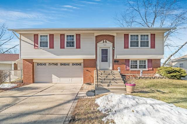 504 Frederick Avenue, Streamwood, IL 60107 (MLS #11010323) :: The Dena Furlow Team - Keller Williams Realty