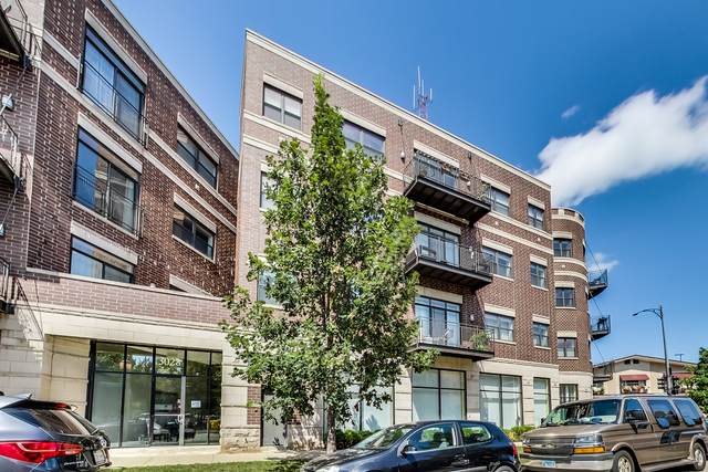 3028 W Roscoe Street #305, Chicago, IL 60618 (MLS #11010473) :: The Perotti Group