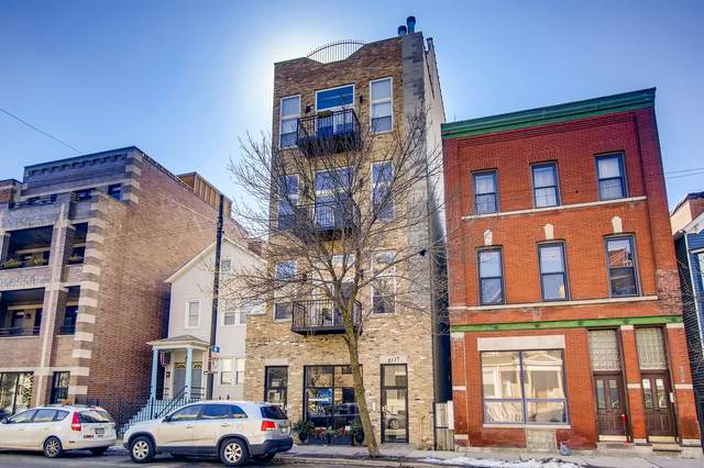 2117 W Belmont Avenue #3, Chicago, IL 60618 (MLS #11010732) :: The Perotti Group
