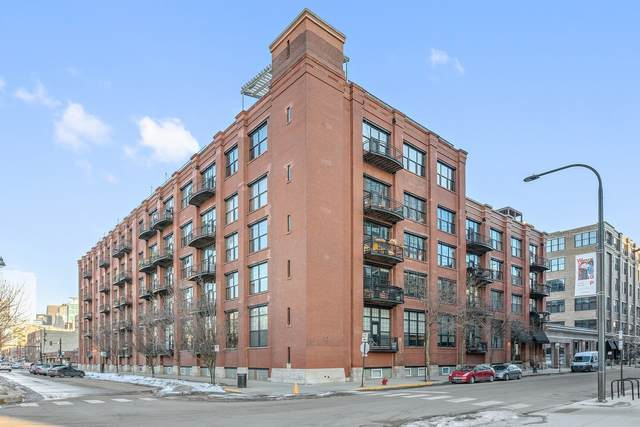 1000 W Washington Boulevard #347, Chicago, IL 60607 (MLS #11010984) :: The Perotti Group