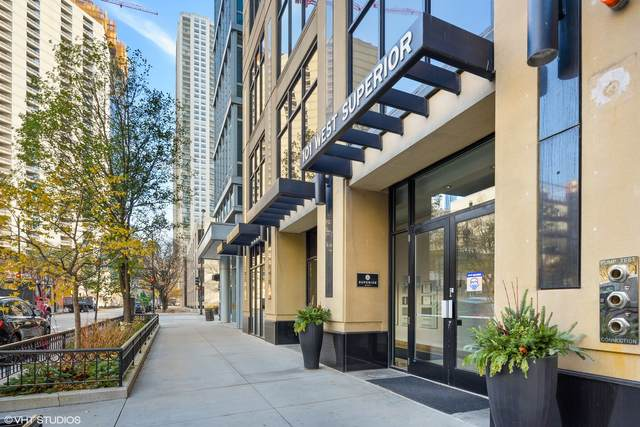 101 W Superior Street #602, Chicago, IL 60654 (MLS #11011126) :: The Perotti Group