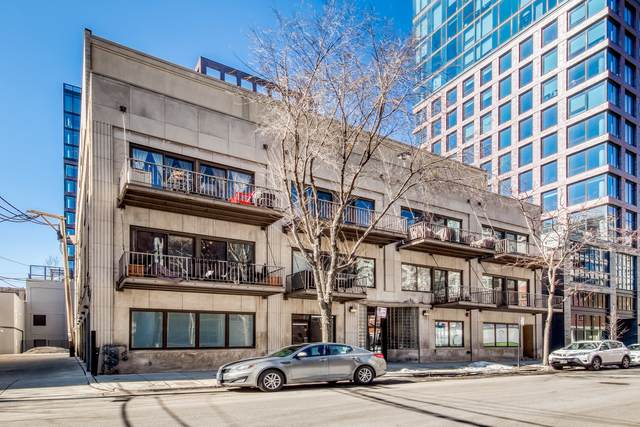 14 N Sangamon Street #208, Chicago, IL 60607 (MLS #11011394) :: The Perotti Group