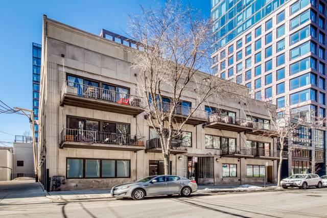 14 N Sangamon Street #208, Chicago, IL 60607 (MLS #11011394) :: The Perotti Group