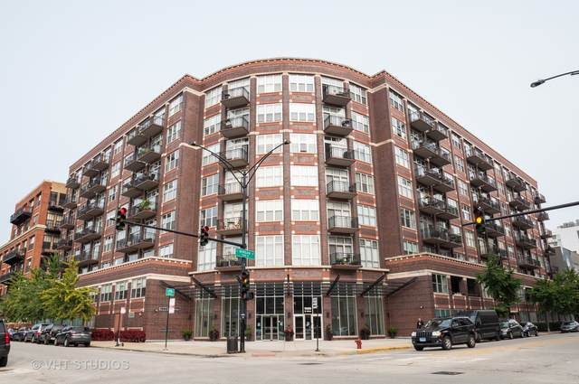 1000 W Adams Street #319, Chicago, IL 60607 (MLS #11011451) :: The Perotti Group