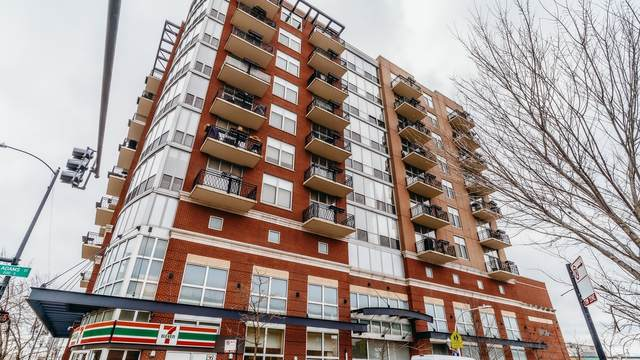 1201 W Adams Street #603, Chicago, IL 60607 (MLS #11012194) :: The Perotti Group