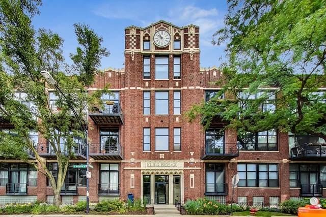 2300 W Wabansia Avenue #122, Chicago, IL 60647 (MLS #11013332) :: The Perotti Group