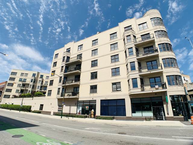 520 N Halsted Street #502, Chicago, IL 60642 (MLS #11022262) :: The Spaniak Team