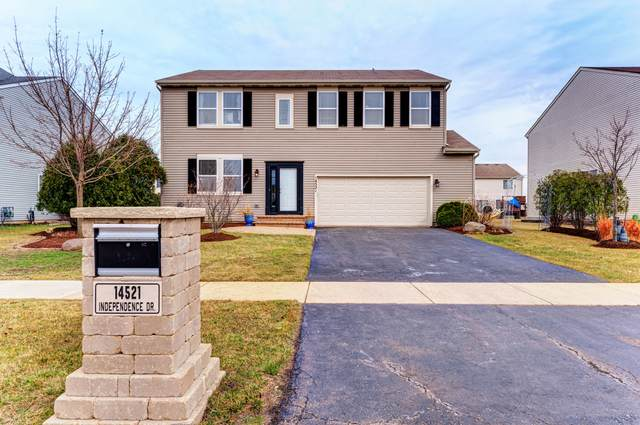 14521 Independence Drive, Plainfield, IL 60544 (MLS #11023098) :: The Spaniak Team