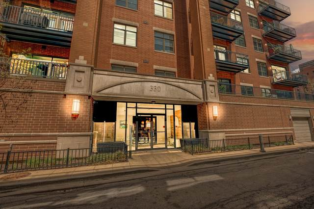 330 N Clinton Street #201, Chicago, IL 60661 (MLS #11026752) :: Jacqui Miller Homes
