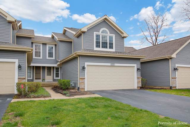 1337 Ridgefield Circle, Carol Stream, IL 60188 (MLS #11028416) :: The Dena Furlow Team - Keller Williams Realty