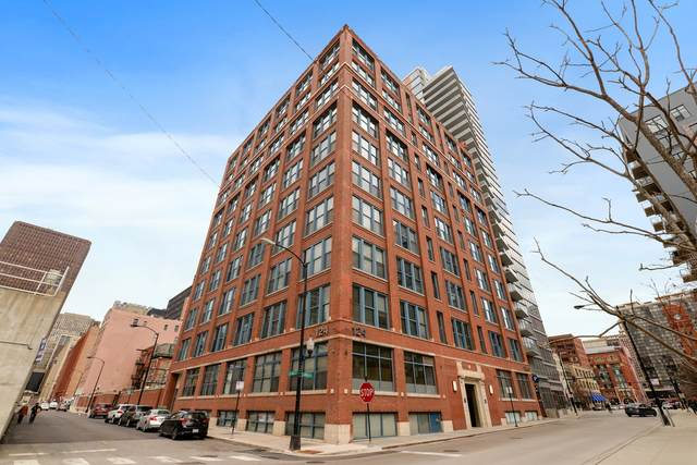 124 W Polk Street #607, Chicago, IL 60605 (MLS #11029821) :: The Spaniak Team