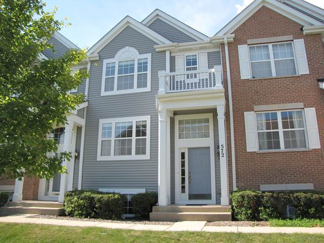 572 Lincoln Station Drive #572, Oswego, IL 60543 (MLS #11030283) :: RE/MAX IMPACT
