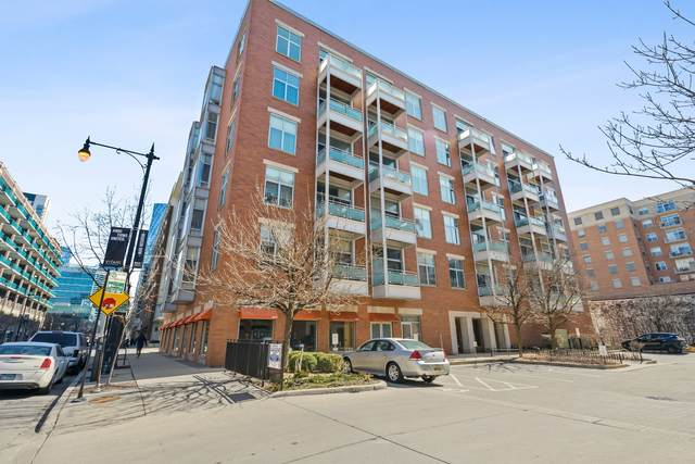 939 W Madison Street #506, Chicago, IL 60607 (MLS #11031893) :: Littlefield Group