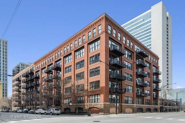 520 W Huron Street #616, Chicago, IL 60654 (MLS #11032621) :: The Spaniak Team