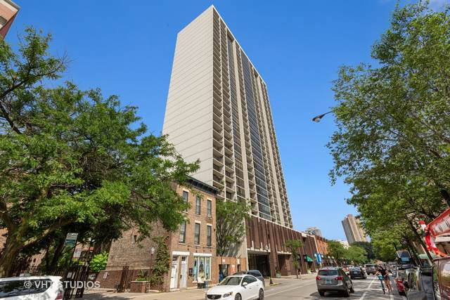 1636 N Wells Street #2511, Chicago, IL 60614 (MLS #11036191) :: The Perotti Group