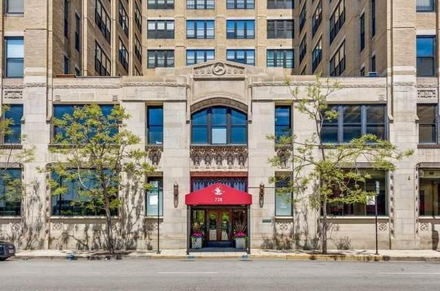728 W Jackson Boulevard #618, Chicago, IL 60661 (MLS #11036384) :: Touchstone Group