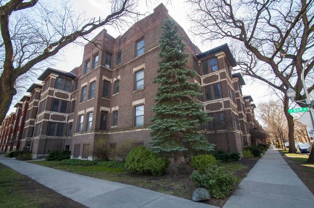 5303 S Woodlawn Avenue #3, Chicago, IL 60615 (MLS #11037959) :: The Dena Furlow Team - Keller Williams Realty