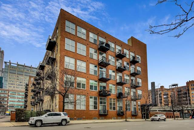 417 S Jefferson Street 205B, Chicago, IL 60607 (MLS #11038110) :: The Dena Furlow Team - Keller Williams Realty