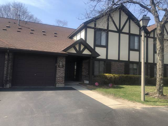 1022 Lakeland Court 1A, Wheeling, IL 60090 (MLS #11039680) :: The Spaniak Team