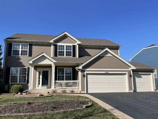 14718 Colonial Parkway, Plainfield, IL 60544 (MLS #11040790) :: The Spaniak Team