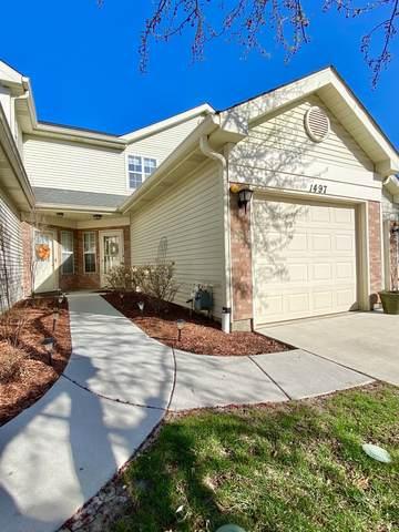 1497 Golfview Drive, Glendale Heights, IL 60139 (MLS #11041064) :: The Dena Furlow Team - Keller Williams Realty