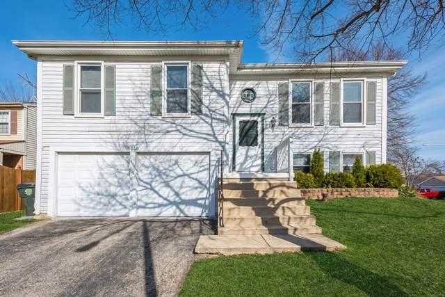 5040 Somerton Drive, Hoffman Estates, IL 60010 (MLS #11041810) :: Helen Oliveri Real Estate