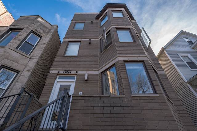2439 N Talman Avenue #2, Chicago, IL 60647 (MLS #11045950) :: The Dena Furlow Team - Keller Williams Realty