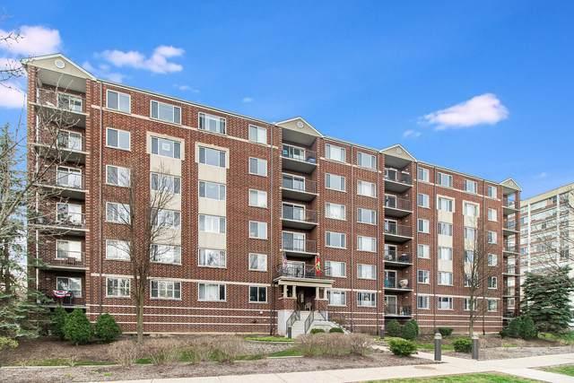 31 E Grove Street #604, Lombard, IL 60148 (MLS #11046359) :: The Perotti Group