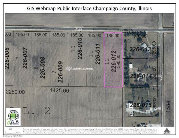 LOT 12 600N Road, TOLONO, IL 61880 (MLS #11048702) :: The Spaniak Team