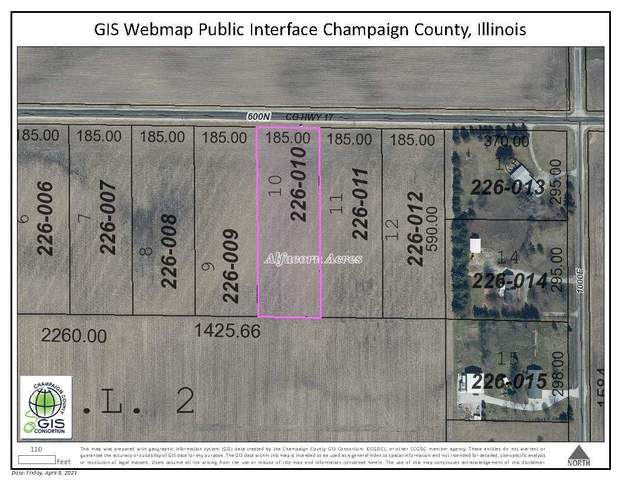 LOT 10 600N Road, TOLONO, IL 61880 (MLS #11048722) :: The Spaniak Team