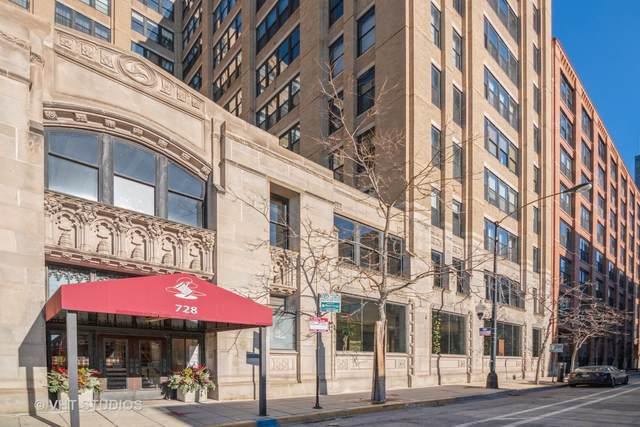 728 W Jackson Boulevard #517, Chicago, IL 60661 (MLS #11049696) :: John Lyons Real Estate