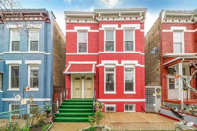 2422 W Mclean Avenue, Chicago, IL 60647 (MLS #11049864) :: John Lyons Real Estate