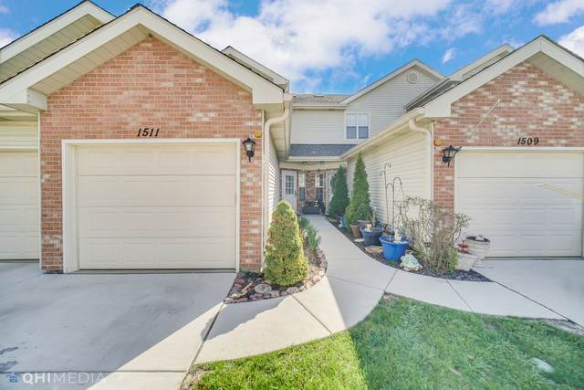 1511 Golfview Court #1511, Glendale Heights, IL 60139 (MLS #11053309) :: The Dena Furlow Team - Keller Williams Realty