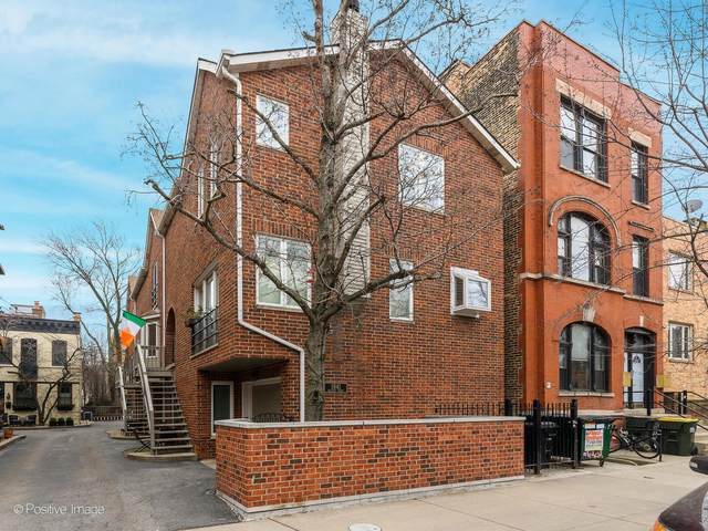 1841 N Halsted Street C, Chicago, IL 60614 (MLS #11054320) :: The Perotti Group