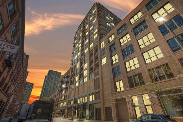 400 W Ontario Street #612, Chicago, IL 60654 (MLS #11054893) :: The Perotti Group