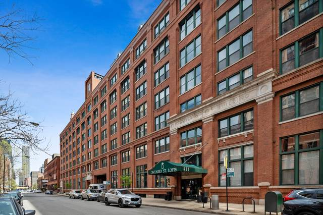 411 W Ontario Street #606, Chicago, IL 60654 (MLS #11056842) :: Touchstone Group