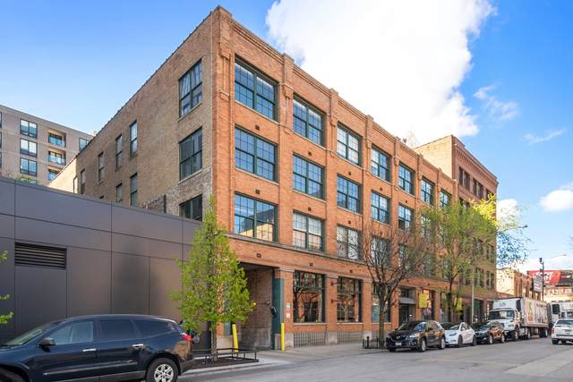 110 N Peoria Street #404, Chicago, IL 60607 (MLS #11056857) :: The Perotti Group