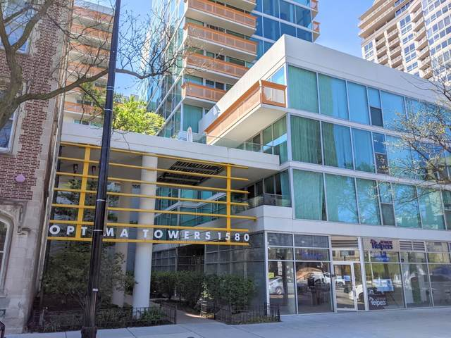 1580 Sherman Avenue #609, Evanston, IL 60201 (MLS #11057070) :: BN Homes Group